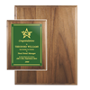 Genuine Walnut Plaque | Custom Recognition Plaques | Custom Engraved Plaques | Custom Plaques Awards | Plaques and Awards