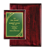 "Rosewood Piano Finish Plaque (12"" x 15"") 