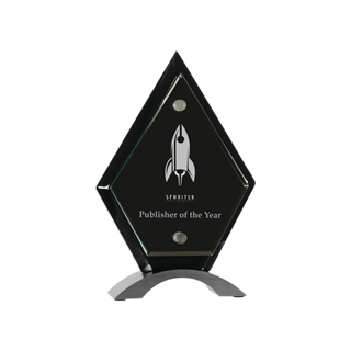 Picture of Diamond Floating Acrylic Standup (Small)