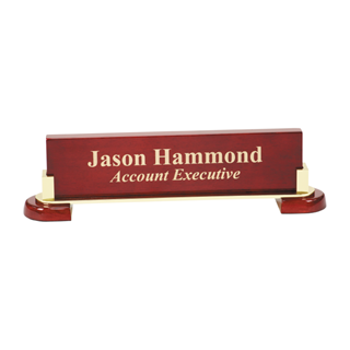 Picture of Piano & Metal Name Bar