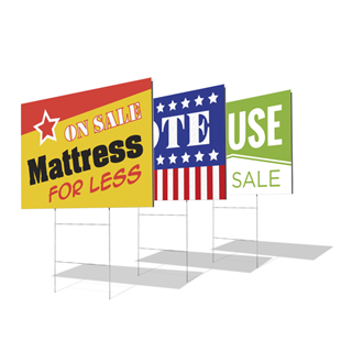 24 x 18 Custom Yard Signs (Single Sided) - Election Signs, Real Estate Signs | Custom Yard Signs | Custom Printing Services | MawardsPlus.com