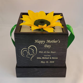 Picture of Mother's Day Deluxe Sunflower Gift Box