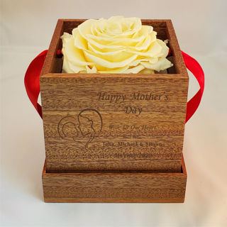 Picture of Mother's Day Single Rose Gift Box